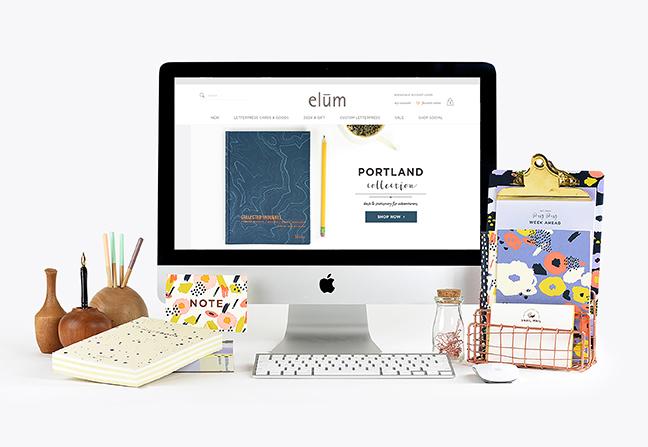 Elum Website Redesign