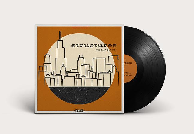 Joel Baer Quartet Album Design