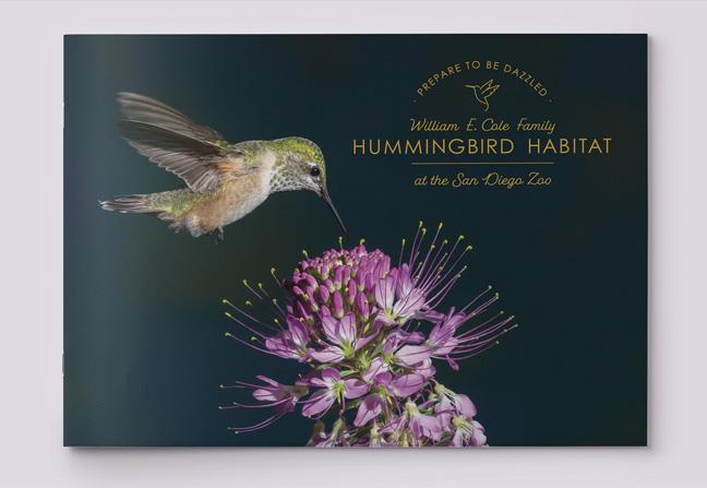 San Diego Zoo Hummingbird Habitat Appeal