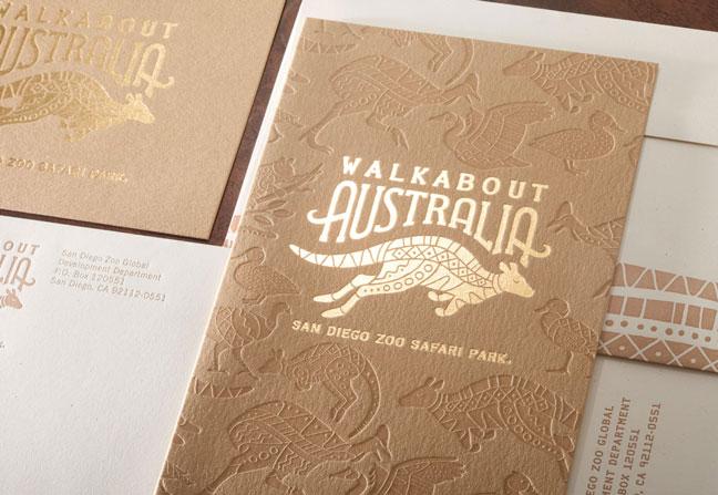 Walkabout Australia Opening Invitation
