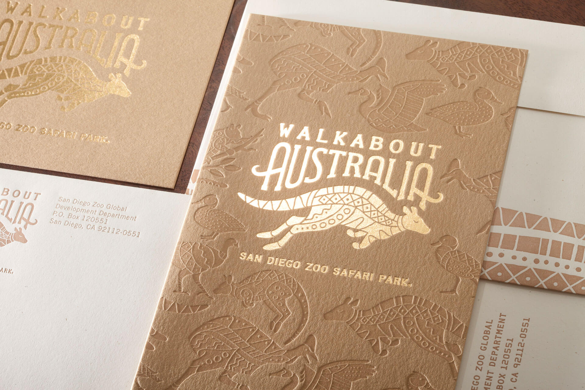 Walkabout Australia Opening Invitation Package